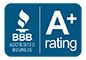 A+ Rating - Better Business Bureau - Zia Factory Outlet